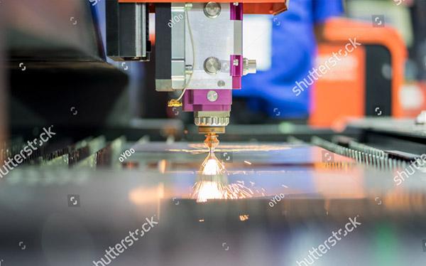 Laser metal engraving